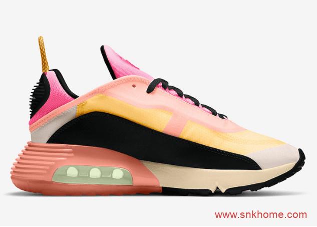 "耐克粉色气垫跑鞋 Nike Air Max 2090 ""Neon Highlighter"" 新品耐克MAX2090官图释出 货号:CT1290-700-潮流者之家"