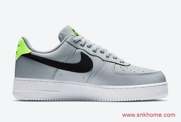 """低帮空军灰绿配色 Nike Air Force 1 Low """"Worldwide"""" 清爽夏天空军灰绿官图曝光 货号:CK7648-002-潮流者之家"""