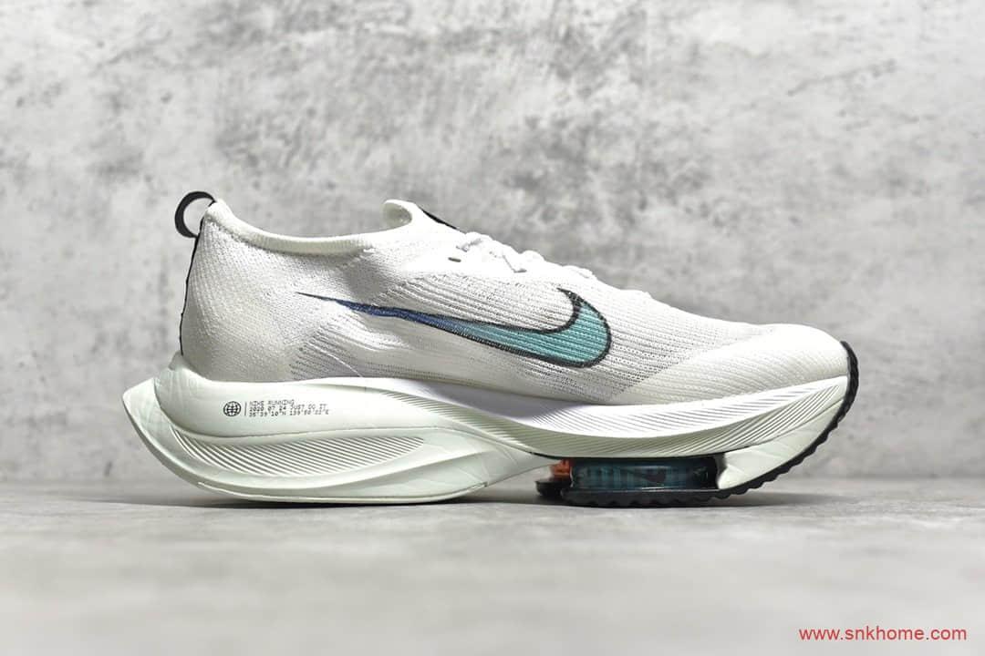耐克前掌气垫 NIKE Air Zoom Alphafly NEXT% XHU 耐克马拉松系列白色透气跑鞋 货号:CI9925-100-潮流者之家