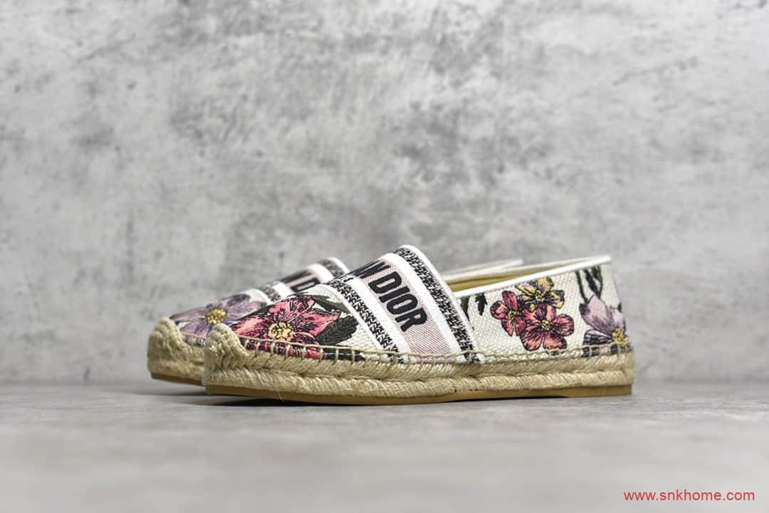 迪奥3D电绣 全套包装 ZP订制刺绣面料 Christian Dior迪奥经典板鞋-潮流者之家
