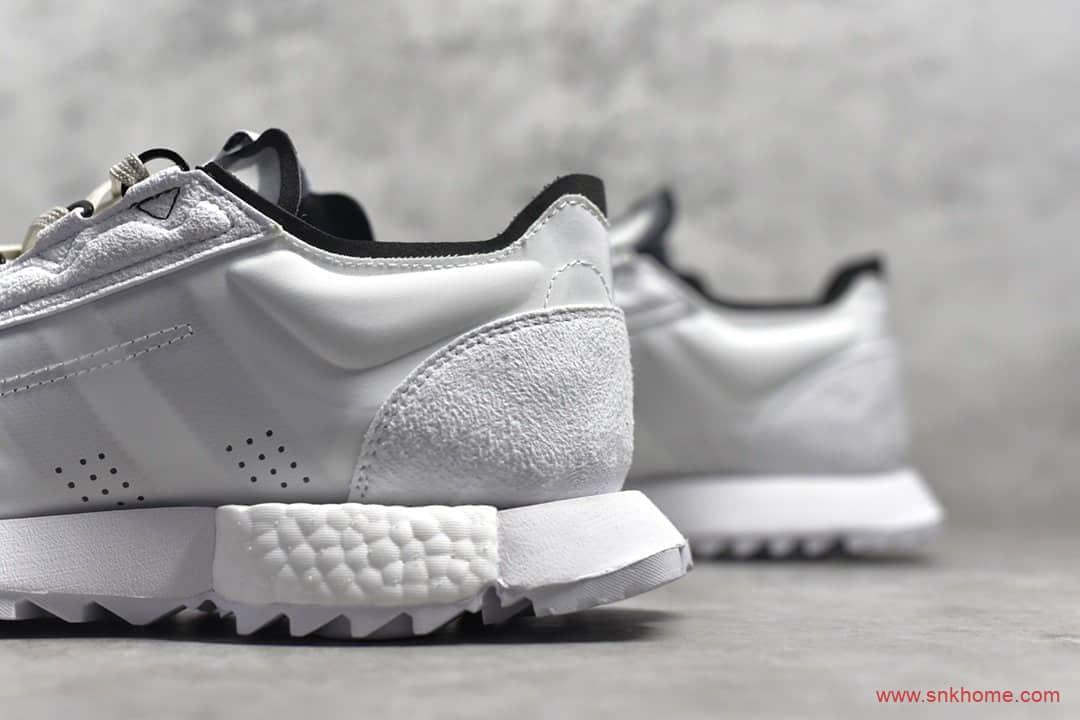 阿迪达斯爆米花跑鞋 adidas SL7600 Boost 阿迪达斯翻毛皮尼龙材质跑鞋 货号:FW0132-潮流者之家