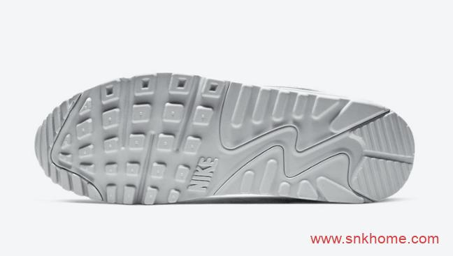 "全新配色Nike Air Max 90 ""Euro Tour"" 耐克MAX90反光斑马纹太好看 货号:CT1028-100-潮流者之家"