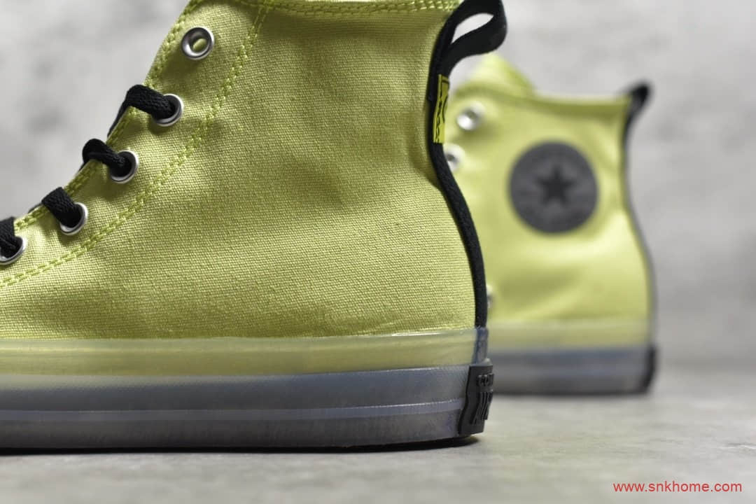 Converse Chunk 70s CX 匡威果冻底 匡威黄色果冻鞋 货号:167802C-潮流者之家