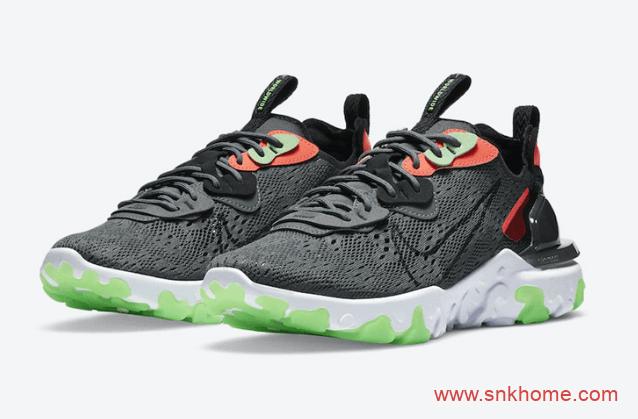 """耐克React 泡棉 黑红跑鞋 Nike React Vision """"Worldwild""""新款官图释出 货号:CT2927-001-潮流者之家"""