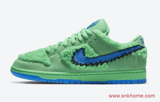 Grateful Dead x Nike SB Dunk Low 耐克五只熊 Dunk SB小熊系列发售日期 货号:CJ5378-300-潮流者之家