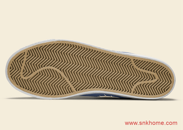 "Nike SB Blazer Mid Premium ""Sashiko""东京奥运会主题高帮板鞋实物图曝光 货号:CT0715-400-潮流者之家"