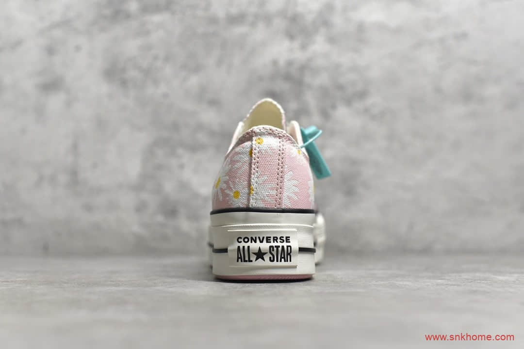 Converse 匡威松糕鞋增高厚底女鞋 匡威1970S增高鞋 货号:568934C-潮流者之家