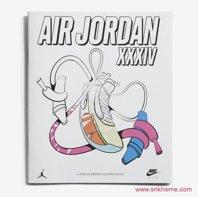 Air Jordan 34 Zion PE 锡安AJ34涂鸦PE官网已经上架 货号:DA1897-100-潮流者之家