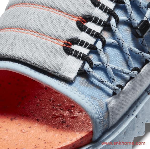 Space Hippie还有拖鞋版本 最适合夏天的垃圾拖鞋 Asuna Slide橡胶绑带拖鞋-潮流者之家