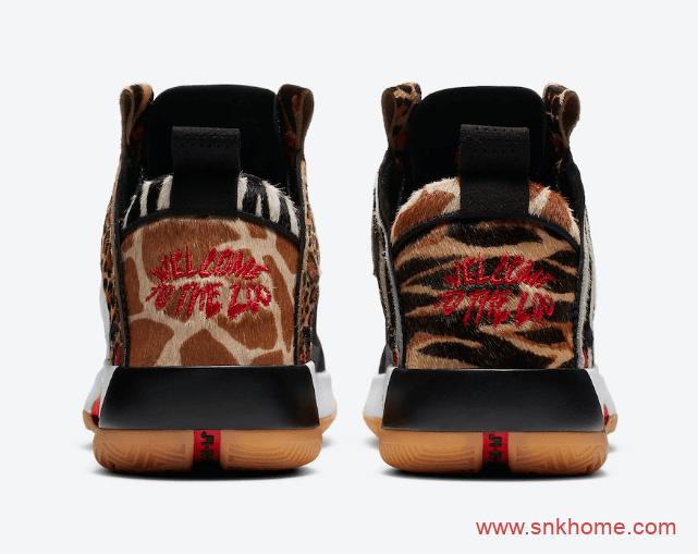 "Jayson Tatum x Air Jordan 34 ""Zoo"" 塔图姆专属AJ34 PE AJ34豹纹动物园主题 货号:DA1900-900-潮流者之家"