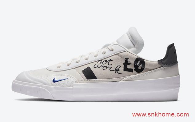 耐克涂鸦板鞋Nike Drop Type LX 耐克手绘漫画原色全新配色发售日期 货号:CJ5642-100-潮流者之家