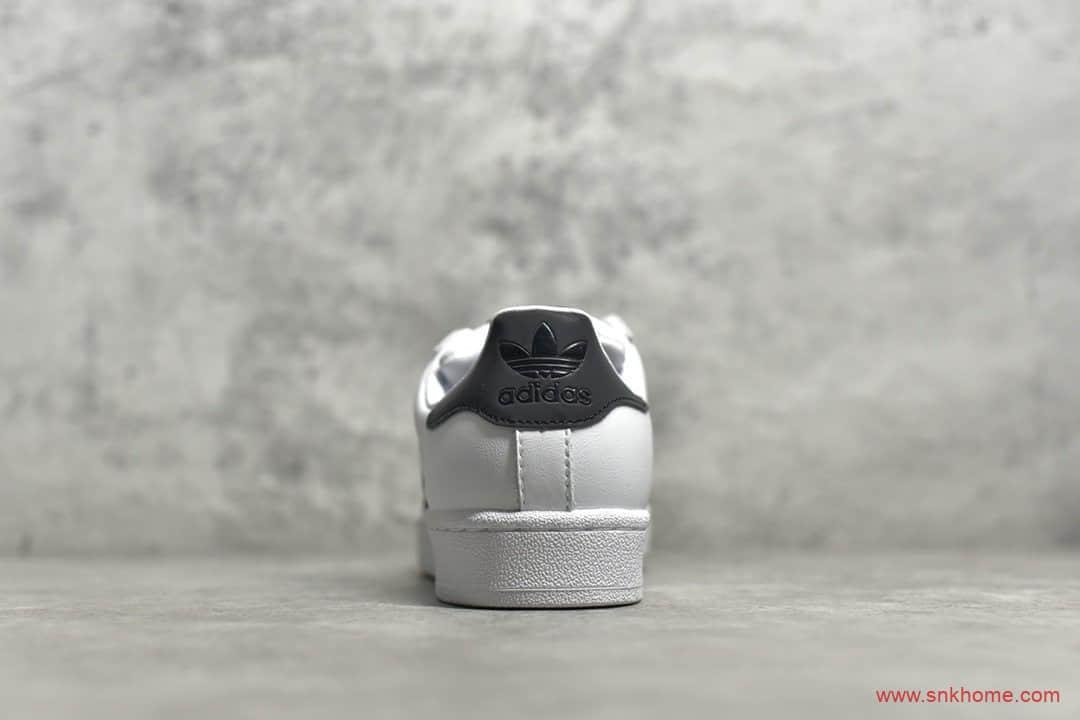 阿迪达斯贝壳头白黑蓝 adidas Originals SUPERSTAR 公司级贝壳头 货号:FW6387-潮流者之家