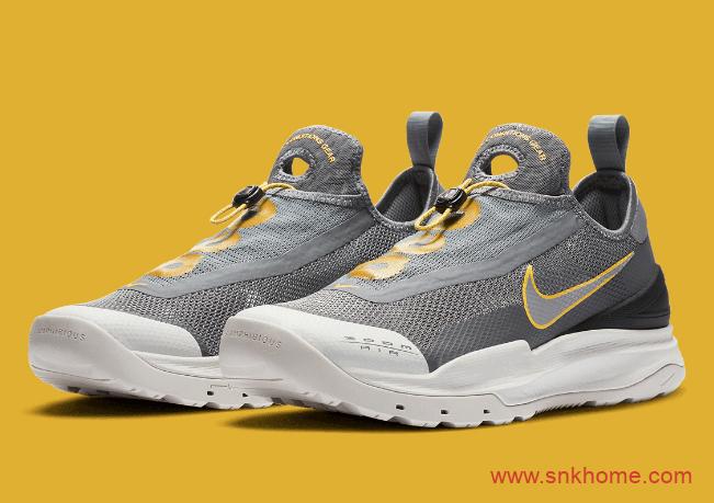 耐克袜套式灰色袜子鞋 Nike ACG Zoom AO 耐克ACG系列新配色官图曝光 货号:CT2898-002-潮流者之家