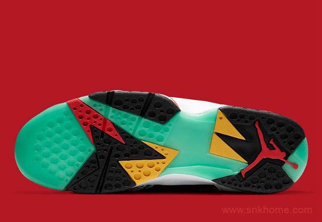 "AJ7中国限定 Air Jordan 7 GC ""China"" AJ7鸳鸯球鞋细节太美 货号:CW2805-160-潮流者之家"