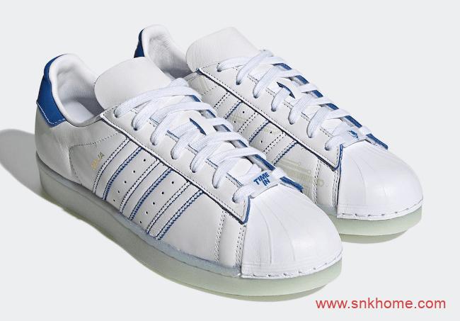 阿迪达斯贝壳头电竞主播联名 Ninja x adidas Superstar 阿迪达斯周年纪念款 货号:FX2784-潮流者之家
