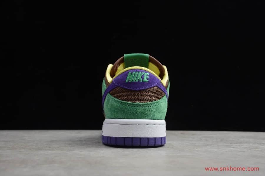 耐克Dunk麂皮低帮板鞋 公司级版本NIKE SB DUNK 棕绿 货号:CT2552-700-潮流者之家