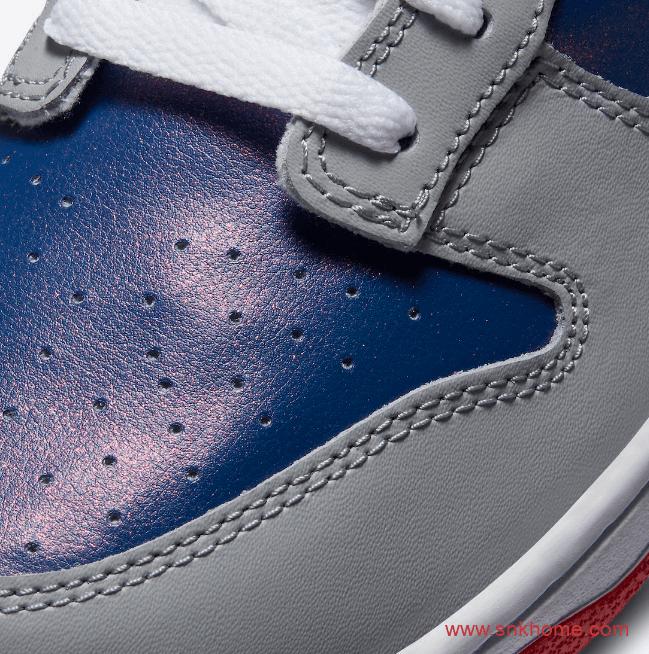 """耐克Dunk日本限定 Nike Dunk Low """"Samba"""" Dunk灰蓝红低帮发售日期 货号:CZ2667-400-潮流者之家"""