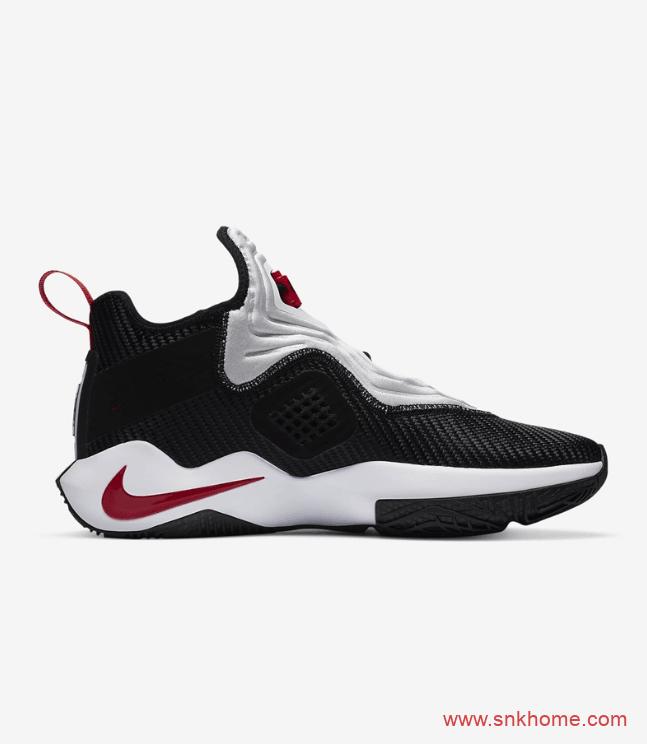 Nike LeBron Soldier 14 詹姆斯14代白黑色网面气垫球鞋发售日期 货号:CK6047-002-潮流者之家