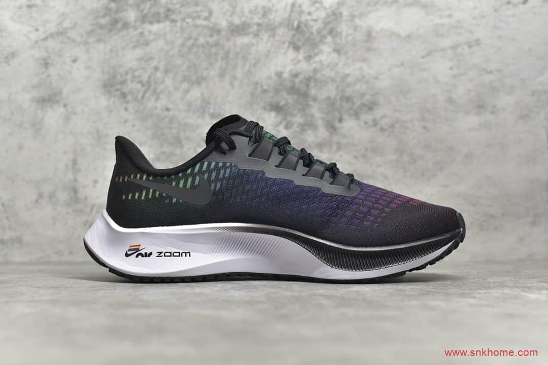 耐克登月37代黑色透气跑鞋 NIKE Zoom Pegasus 37 耐克飞马37代 货号:CV0266-001-潮流者之家