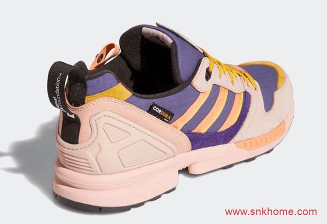 阿迪达斯ZX500多彩鞋面 National Park Foundation x adidas ZX 5000 阿迪达斯联名款防撕裂材质 货号:FY5167-潮流者之家
