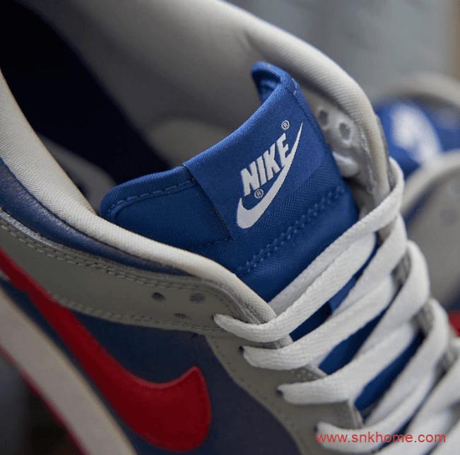 """耐克Dunk灰蓝红低帮 Nike Dunk Low """"Samba"""" Dunk日本限定复刻发售日期 货号:CZ2667-400-潮流者之家"""