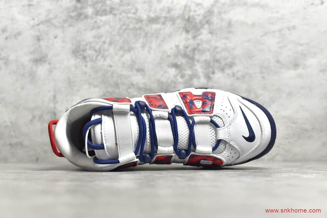 耐克大皮蓬美国队配色 NIKE Air More Uptempo GS 皮蓬实战篮球鞋S2纯原版本 货号:CZ7885-100-潮流者之家