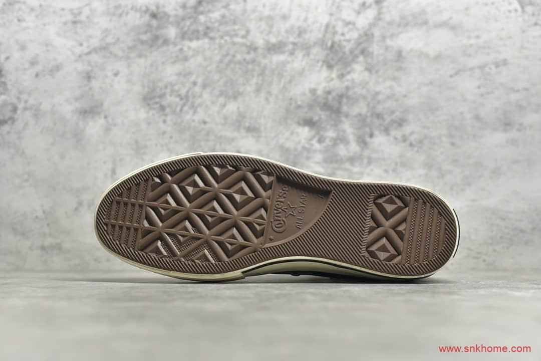 匡威1970S高帮蝴蝶花卉扎染帆布鞋 Converse夏季新款烫金花卉系列 货号:569236C-潮流者之家