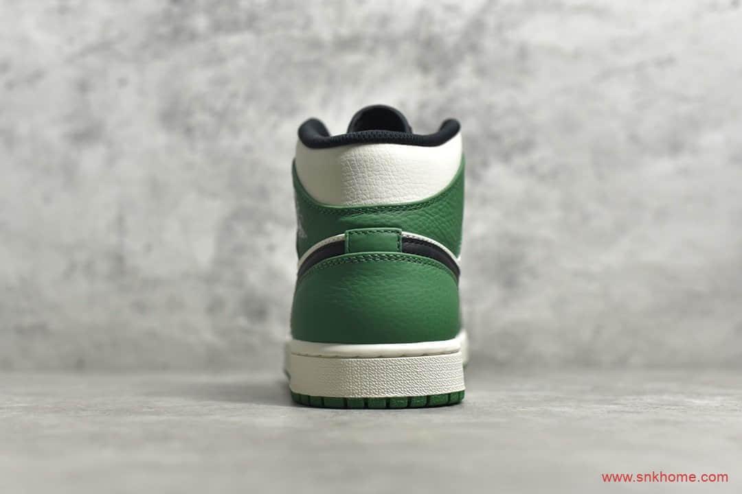 AJ1中帮白绿脚趾凯尔特人 Air Jordan 1 Mid S2纯原版本AJ货源 货号:852542-301-潮流者之家