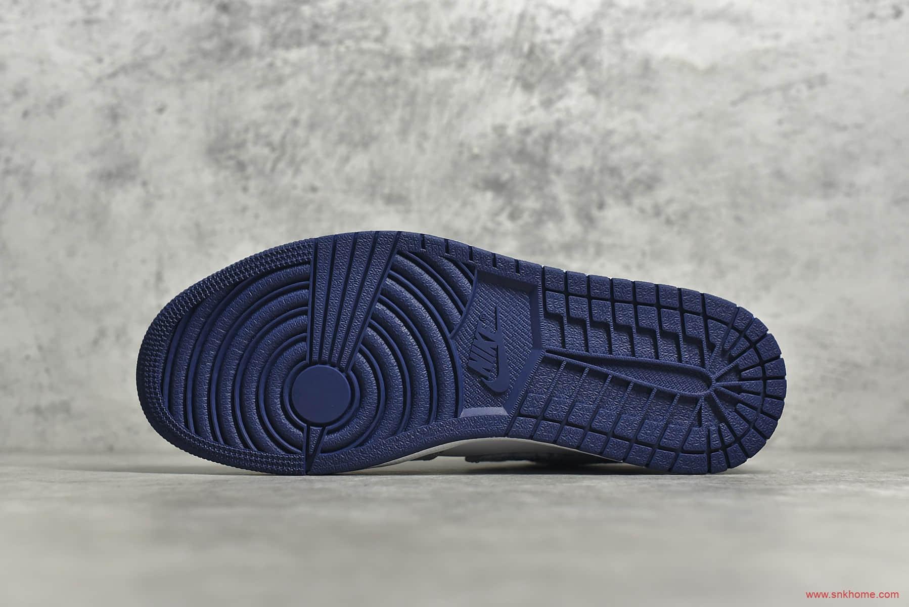 AJ1水泥单宁低帮 Air Jordan 1 LOw SE Washed Denim AJ1纯原版本 货号:CZ8455-100-潮流者之家