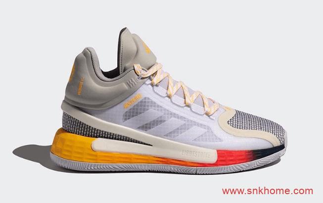 阿迪达斯罗斯11代战靴国内发售 adidas D Rose 11 罗斯阿迪达斯实战篮球鞋 货号:FW8508-潮流者之家