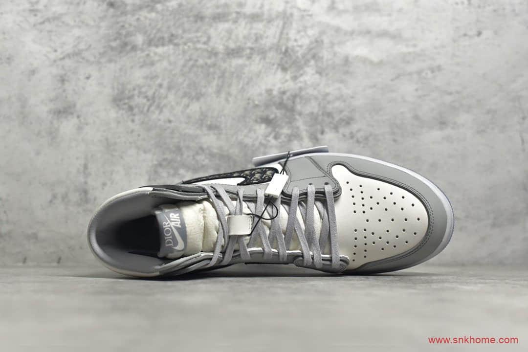 AJ1大迪奥联名正确版本 Dior X Air Jordan high OG 纯原版本AJ1迪奥联名 莆田AJ迪奥联名 货号:CN8607-002-潮流者之家