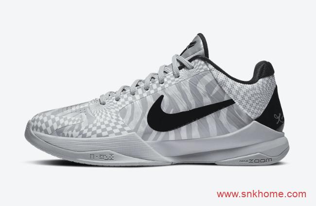 """科比五代PE配色上架 Nike Kobe 5 Protro """"DeMar DeRozan"""" PE德罗赞上脚科比球鞋 货号:CD4991-003-潮流者之家"""