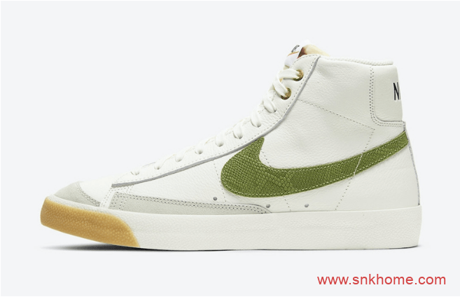 Nike Blazer Mid'77 耐克开拓者高帮 耐克高帮小白鞋新款即将发售 货号:DC1706-100-潮流者之家