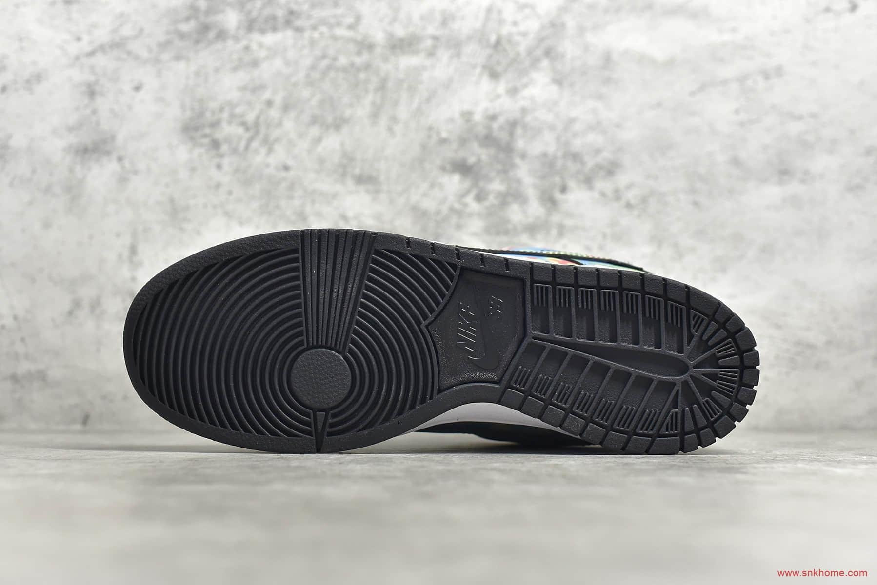 耐克Dunk黑色低帮热成像 耐克遇热变色低帮板鞋 Civilist x NK SB Dunk Low 耐克Dunk热成像 货号:CZ5123-001-潮流者之家