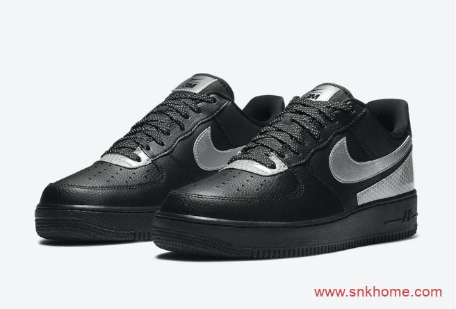 耐克空军3M联名 3M x Nike Air Force 1 Low 耐克空军3M反光新款发售日期 货号:CT2299-001-潮流者之家