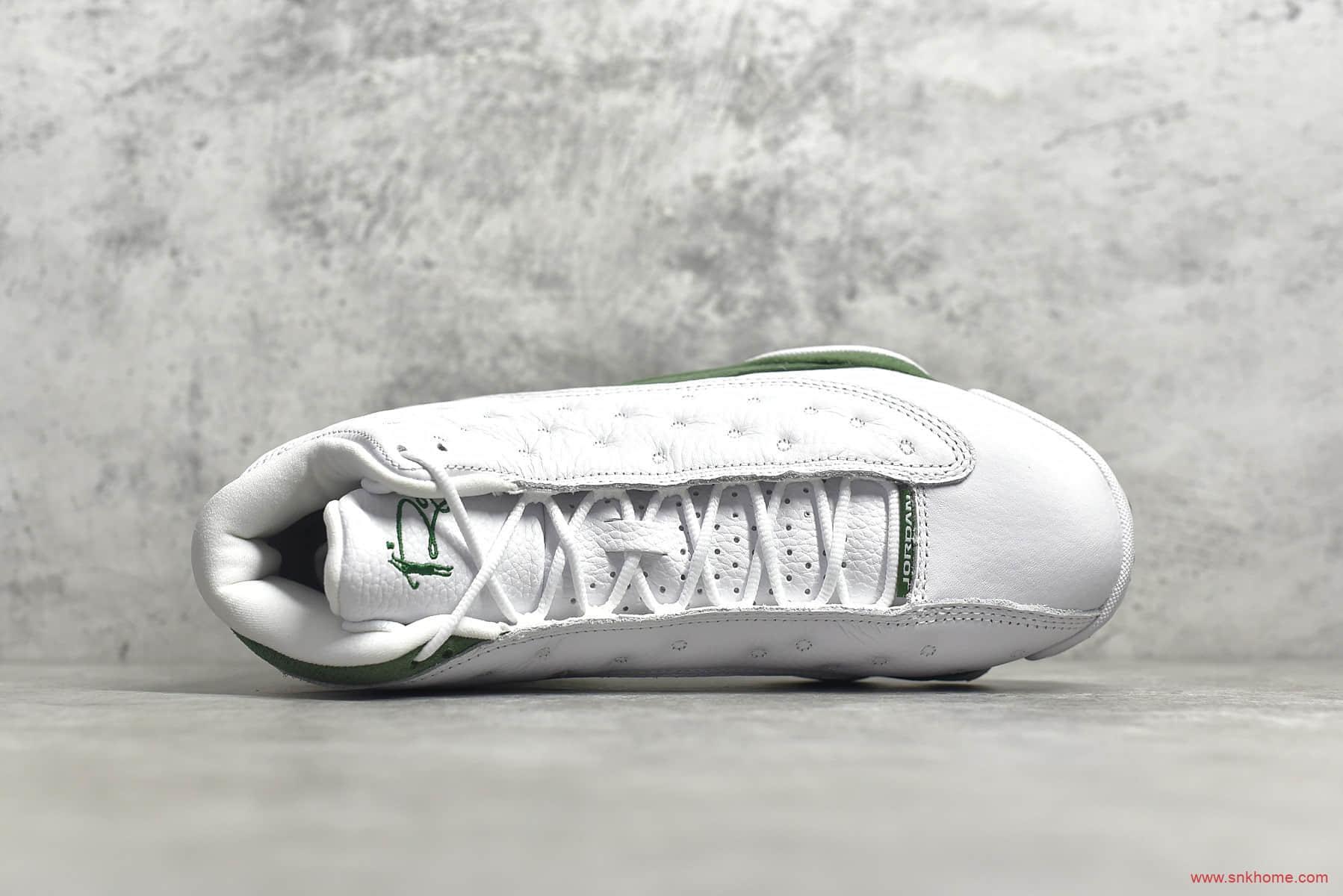 AJ13雷阿伦白蓝高帮球鞋 Air Jordan 13 Ray PE AJ13 雷阿伦AJ13实战篮球鞋 货号:414571-125-潮流者之家