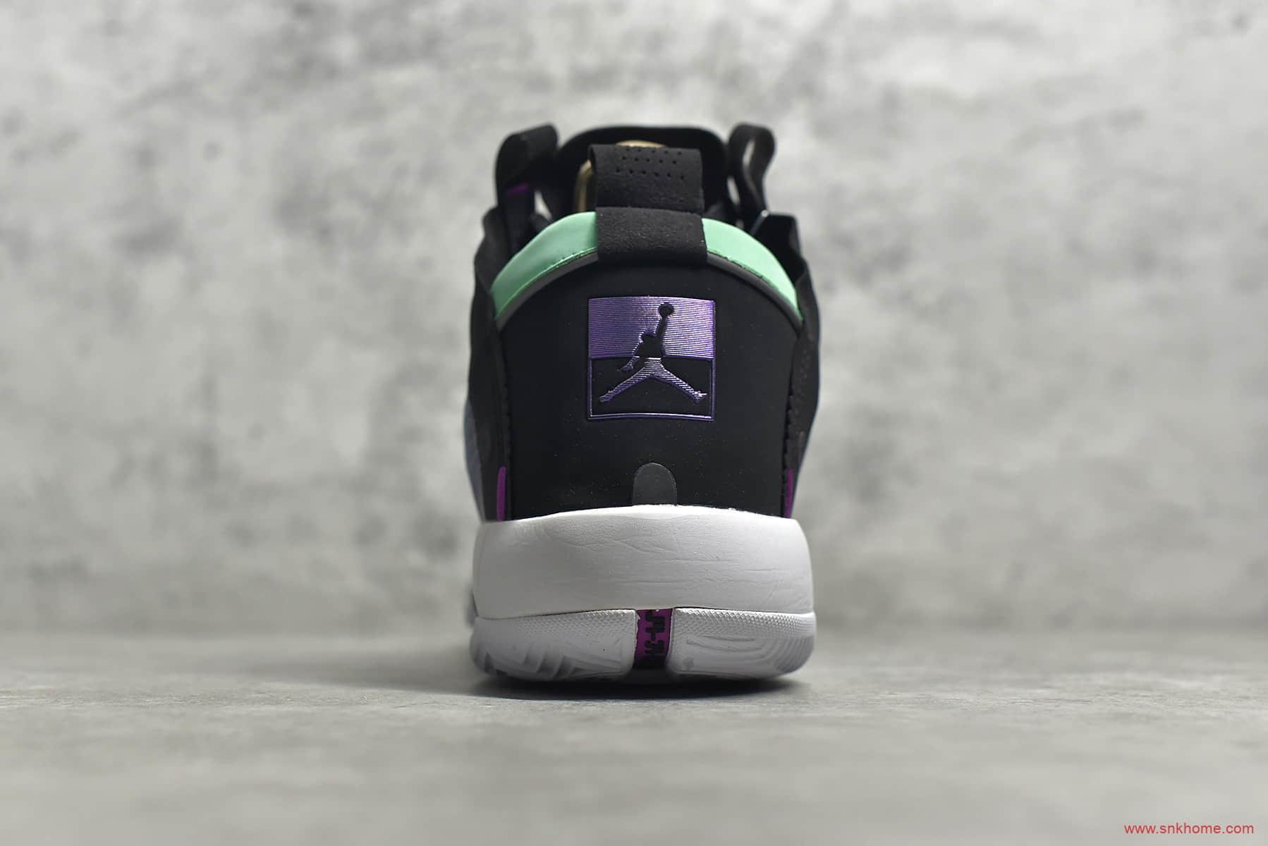 AJ34电光蓝实战篮球鞋 AJ13 BLUE VOID莆田灭世纯原版本AJ34货源 货号:BQ3381-400-潮流者之家