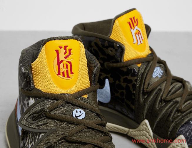 """耐克欧文S2涂鸦混合球鞋 Nike Kybrid S2 """"What The"""" 欧文战靴新款发售日期 货号:CQ9323-300-潮流者之家"""