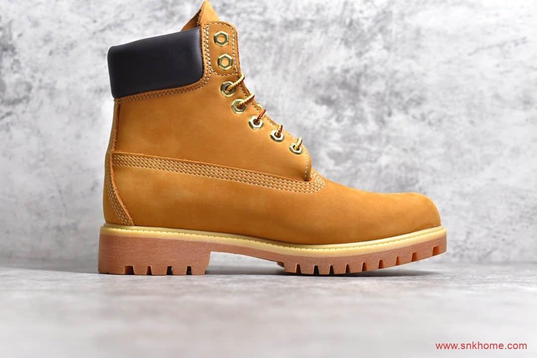 天伯伦经典大黄靴纯原版本 Timberland 天伯伦经典款大黄靴 七孔男码10061 六孔女码10361-潮流者之家