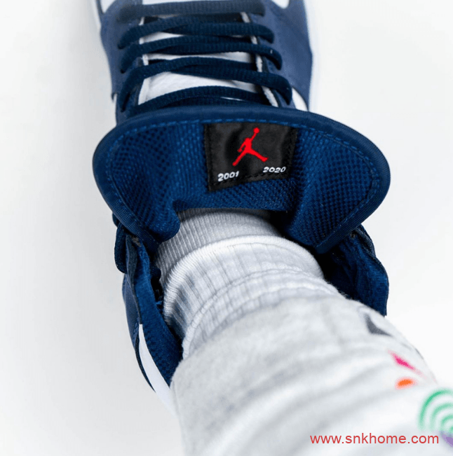"Air Jordan 1 High OG CO.JP ""Midnight Navy"" AJ1日本限定海军蓝平民版发售日期 货号:DC1788-100-潮流者之家"