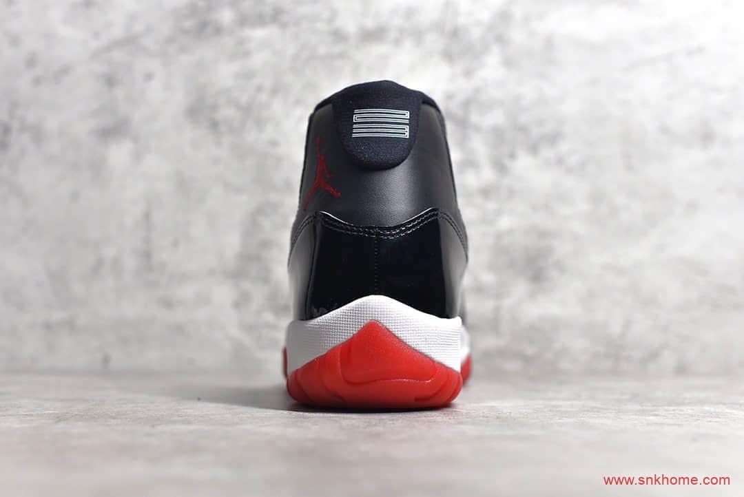AJ11黑红康扣 Air Jordan 11