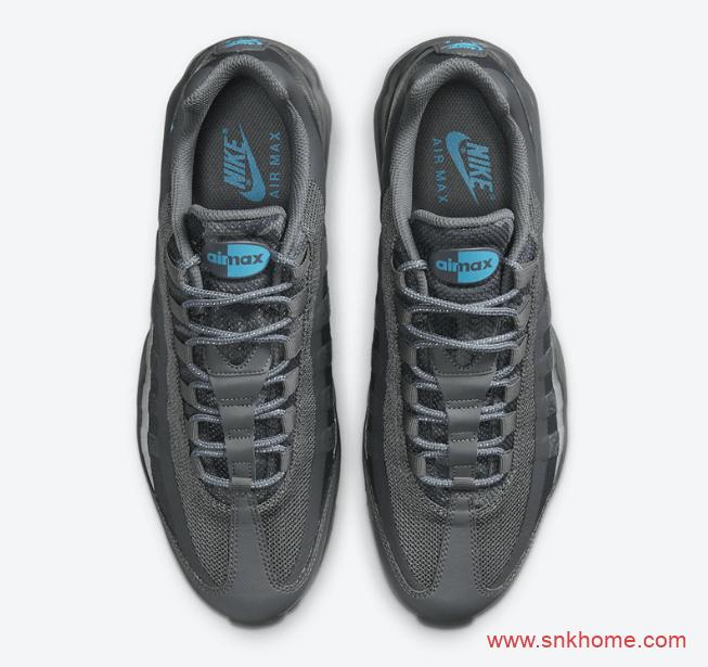 耐克MAX95烟灰色气垫 Nike Air Max 95 Ultra 高规格耐克MAX95Ultra 版本 货号:DC1934-001-潮流者之家