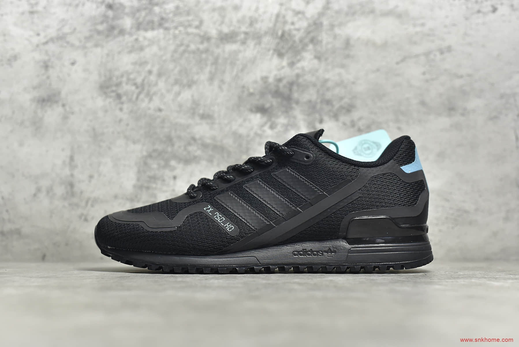 阿迪达斯三叶草ZX700黑色跑鞋 adidas Originals ZX700 HD
