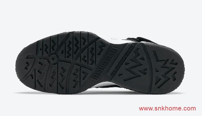 Nike Air Raid 史上最伟大的复刻 耐克AR黑灰配色绑带魔术贴球鞋复刻 货号:DC1412-001-潮流者之家
