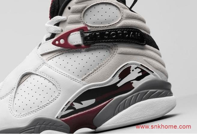 "AJ8酒红太酷炫 Air Jordan 8 WMNS ""Burgundy"" AJ8高帮实战篮球鞋 货号: CI1236-104-潮流者之家"