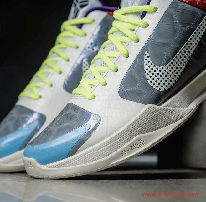 """科比五代球鞋塔克专属配色 Nike Kobe 5 Protro """"PJ Tucker"""" PE 科比实战篮球鞋 货号:CD4991-004-潮流者之家"""