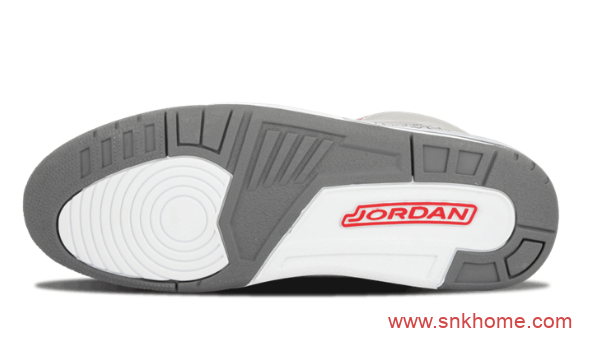 "AJ13灰色实战球鞋 Air Jordan 3""Cool Grey"" AJ13酷灰时隔十四年复刻 货号:CT8532-012-潮流者之家"