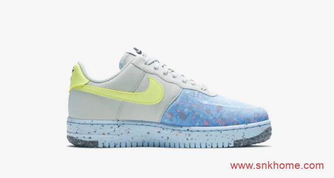 耐克空军垃圾鞋 Nike Air Force 1 Crater Space Hippie 系列空军可回收材料制鞋-潮流者之家
