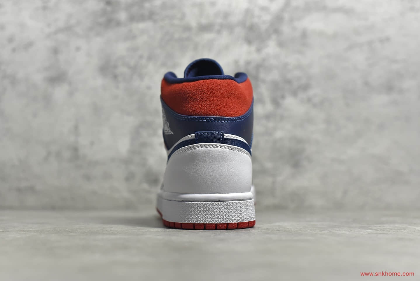 AJ1中帮美国队配色 Air Jordan 1 MId SE USA 纯原版本AJ1白蓝红市面唯一纯原级别 货号:852542-104-潮流者之家
