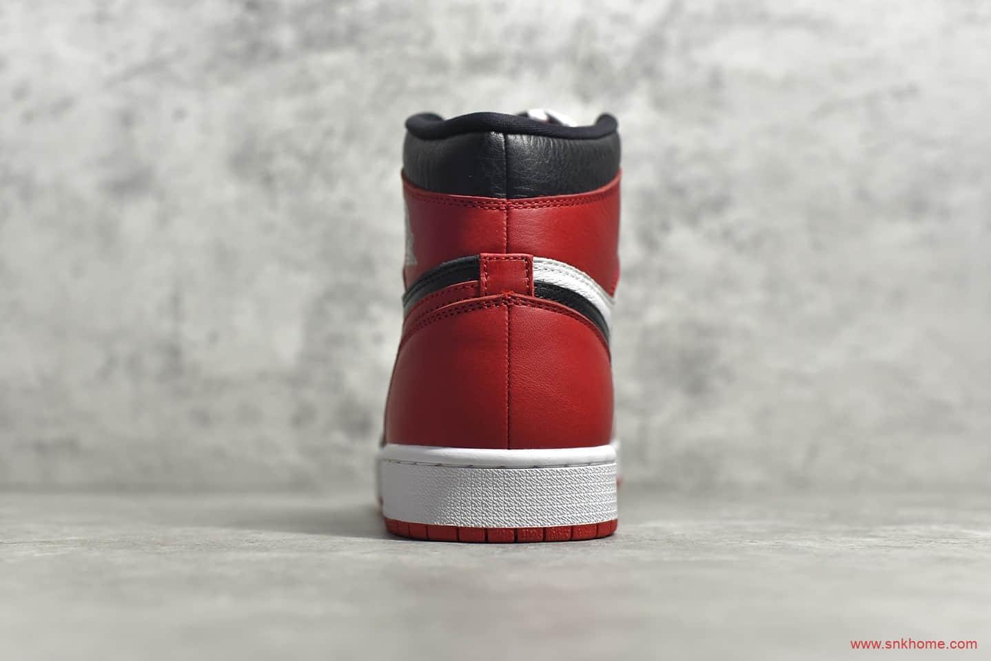 AJ1小丑高帮 AJ1黑脚趾幸福课 Air Jordan 1 阴阳小丑 CJ纯原版本 货号:861428-061-潮流者之家